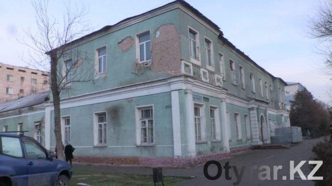 Здание адвокатуры Шымкента