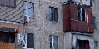 Многоэтажный дом пользуется пропаном