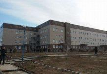 Детская больница в микрорайоне Асар