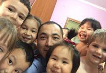 Данияр Мейрхан в детском саду