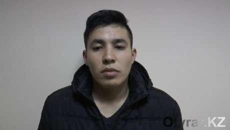 Задержанный в Алматы житель ЮКО