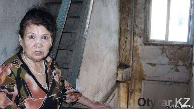 Пенсионерка отказывается уезжать из аварийного дома