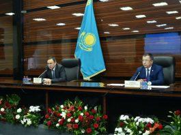 Расширенное заседание с участием заместителя Премьер-министра РК – министра Сельского хозяйства РК Аскара Мырзахметова