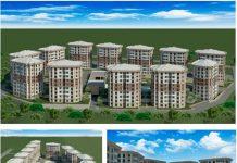 В двух коттеджных городках Шымкента будет построено 1343 дома