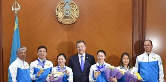 Награждены победители Универсиады из Южно-Казахстанской области