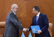 Акимат ЮКО и представитель ЮНИСЕФ подписали меморандум о правах детей