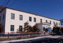 Старая больница в Састобе