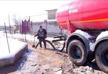 Затопило частный сектор в Шымкенте
