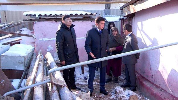 Подробности обрушения жилого дома от непосредственных свидетелей ЧП выслушал Габидулла Абдрахимов