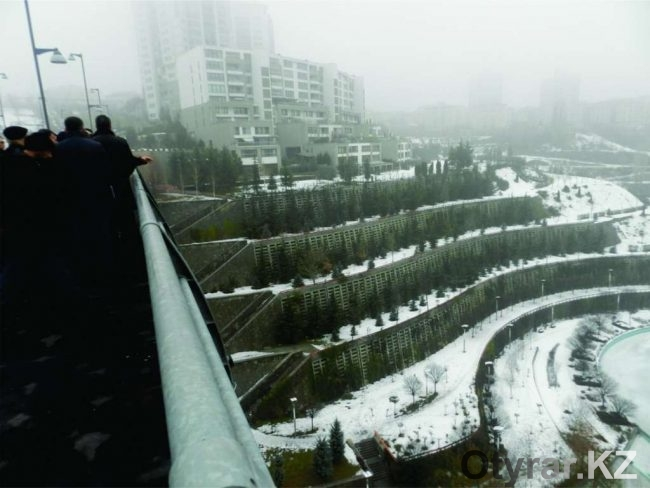 Анкара, застройка террасами