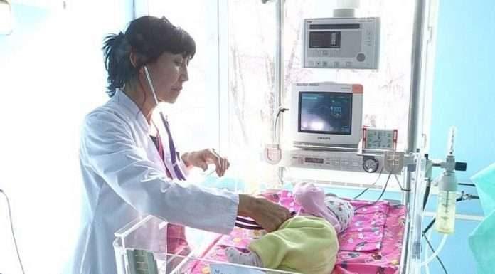Малышка-подкидыш, найденая в Сайрамском районе ЮКО