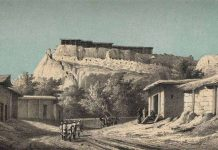 Цитадель Чимкента в старом городе