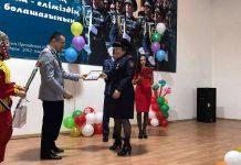 В МПС Шымкента поздравили женщин