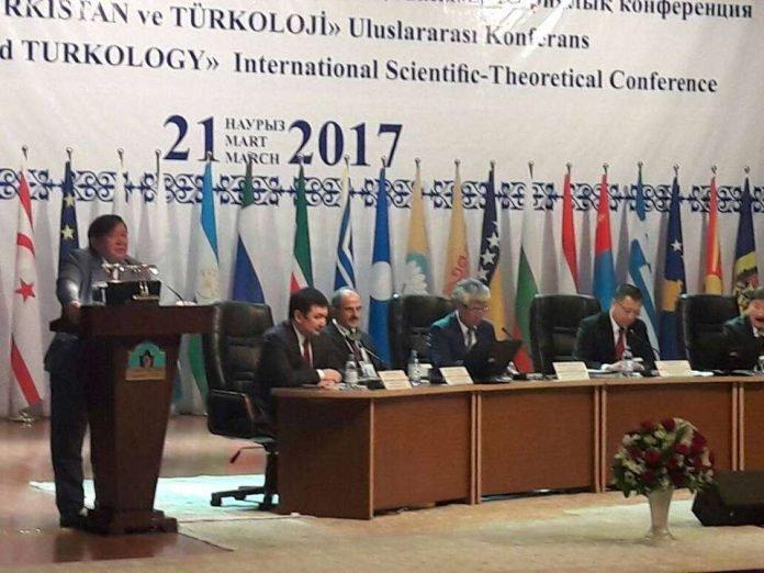 Научно-практическая конференция проходит в Туркестане