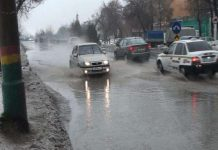 Дороги в Шымкенте