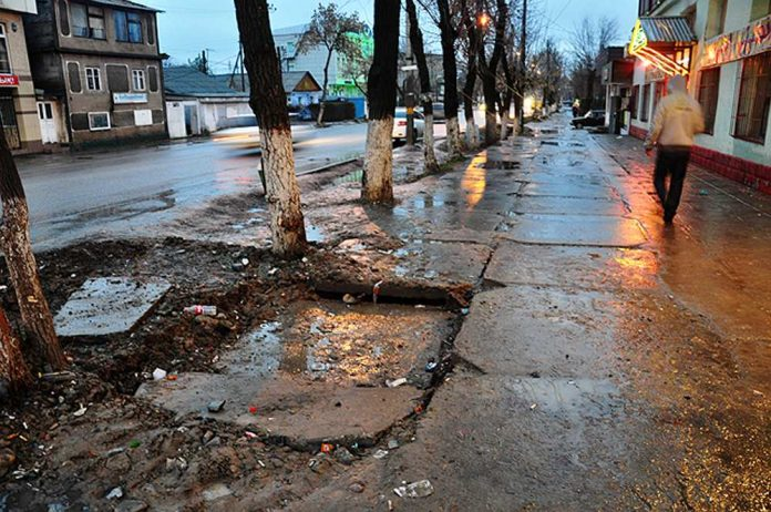 Тротуары в Шымкенте