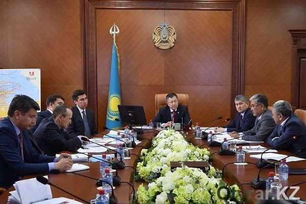 Совещание под председательством акима ЮКО Жансеита Туймебаева по вопросам развития архитектурного облика Шымкента