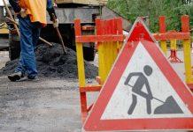 В Шымкенте начали ремонтировать дороги