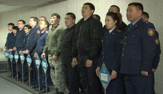 Участники соревнований по стрельбе ДВД ЮКО