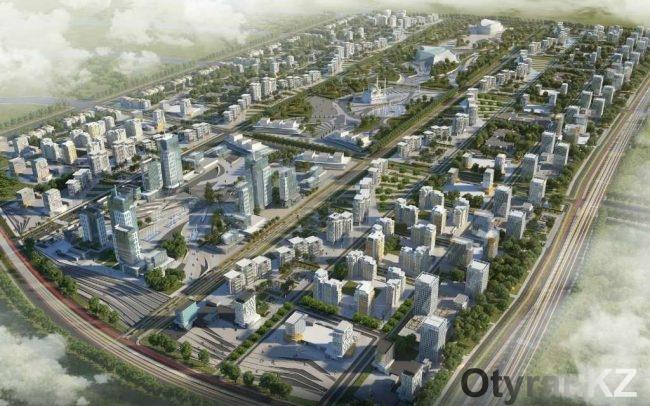 Проект Shymkent city