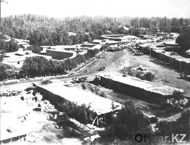 Старый город в Чимкенте