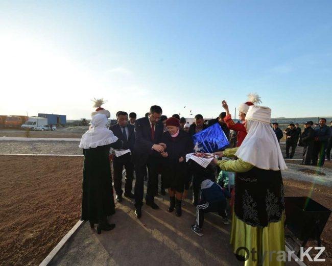 Новоселье в Сарыагашском районе