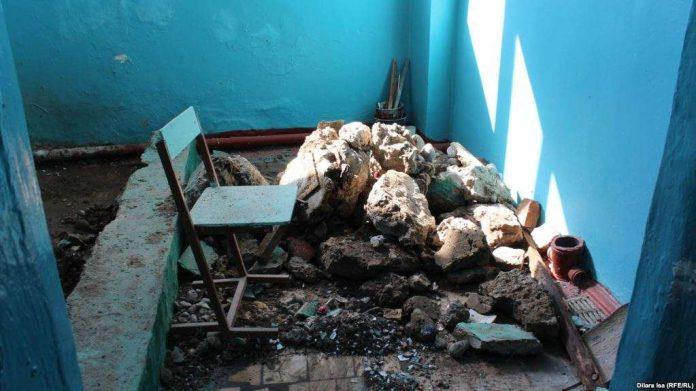 В шымкентской школе после взрыва