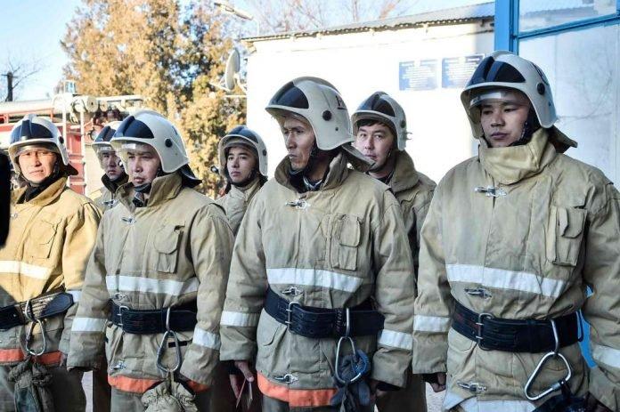 Один день из жизни шымкентского пожарного
