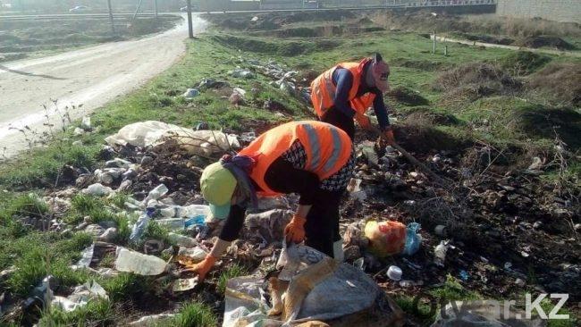 Генеральная уборка в микрорайоне Ынтымак