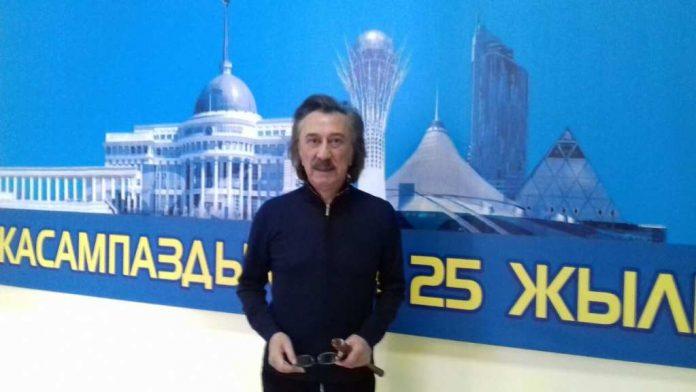 Фаррух Закиров в Шымкенте