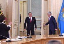 Президент Назарбаев встретился с известными женщинами