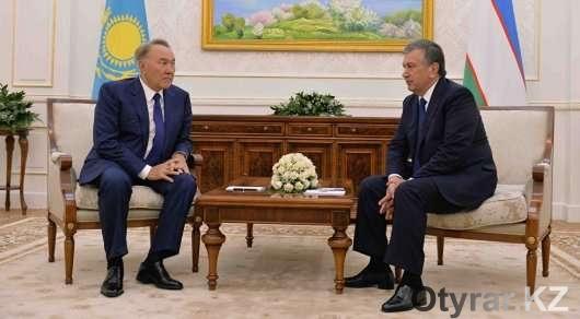 Президенты Казахстана и Узбекистана в Акорде