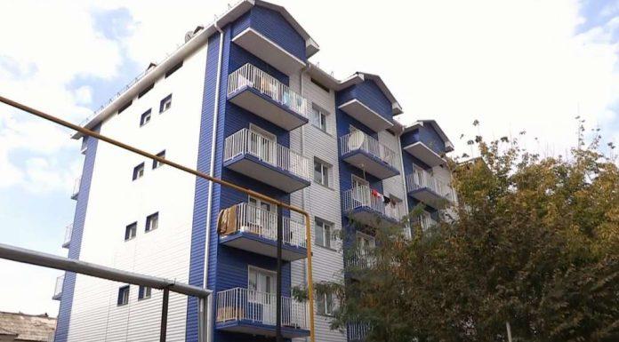 Аварийное общежитие в Шымкенте