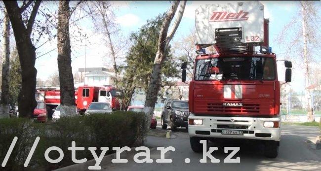 Пожар на улице Гани Иляева