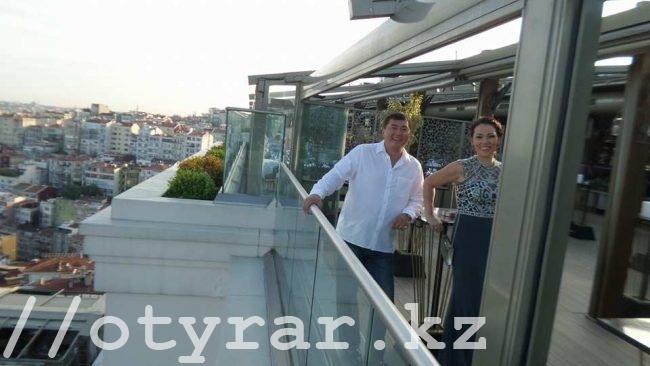 Нурлан и Ольга Сапарбаевы