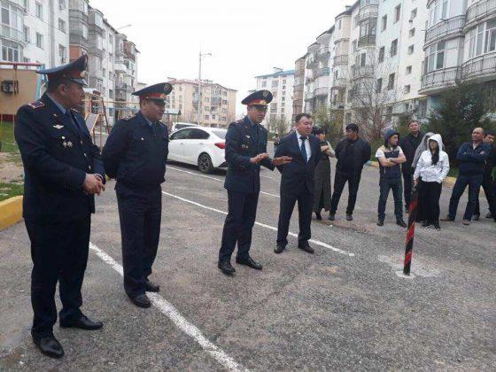 Работа с участковыми полицейскими