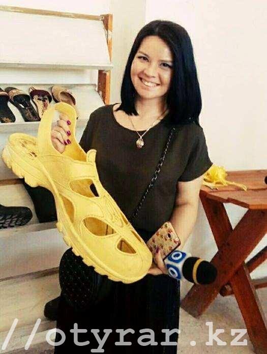 Уникальные сандалии обнаружены в ЮКО
