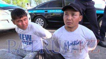 Похитители пытались вывезти своего пленника в Шымкент в багажнике авто