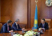 Аким ЮКО встретился с руководителем турецкой партии