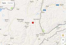 Землетрясение в Шымкенте
