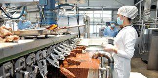 Завод по производству мороженого