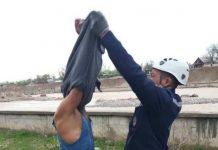 Спасатели вызволили мужчину из Бадама