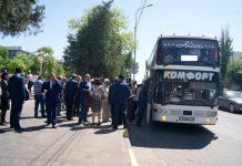 Из Шымкента в Узбекистан отправился «Караван дружбы»