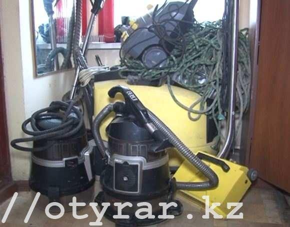 Похищенное оборудование для химчистки