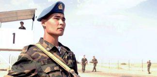 Солдат с оружием