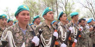 3333 школьника из Шымкента неделю метали гранаты и стреляли из боевого оружия