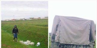 В Шымкенте начали штрафовать за выброс мусора в неположенном месте
