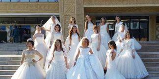 Парад невест в Шымкенте