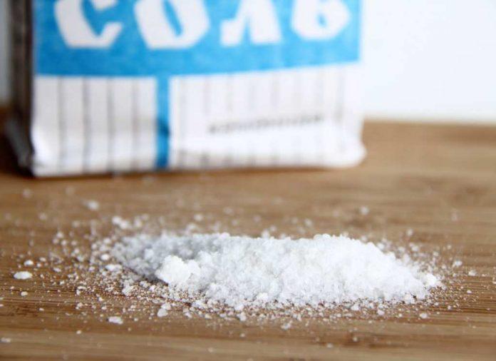 Поваренную соль выпускают в ЮКО