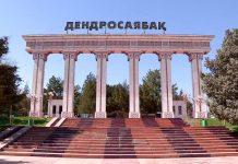 Дендропарк Шымкента